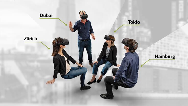 Mit HEGIAS VR von überall in die VR