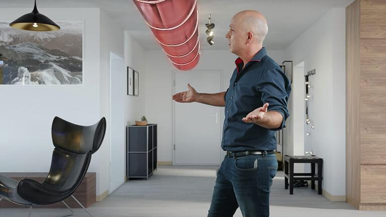 Mit HEGIAS VR die Wohnung virtuell begehen