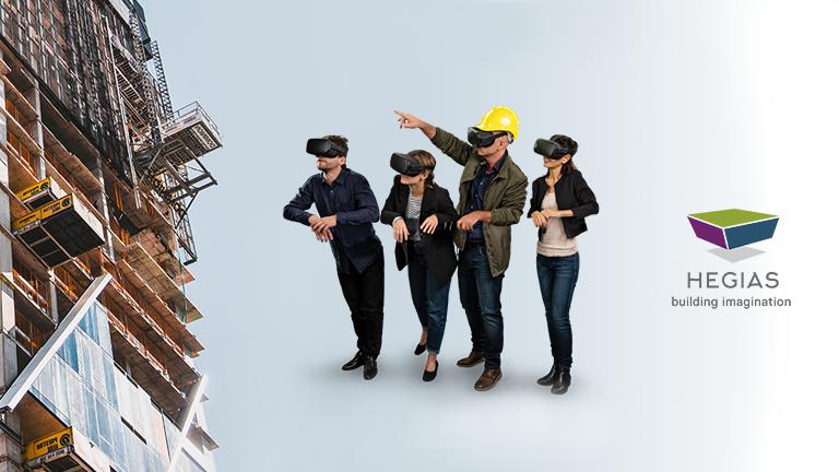 Bauleitung mit VR im Homeoffice