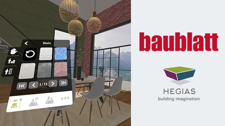 HEGIAS im Baublatt: Mit virtuellen Räumen real Mehrwert schaffen